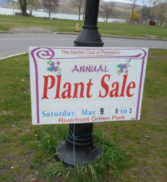 The Garden Club of Peekskill will hold its annual plant sale on Saturday.
