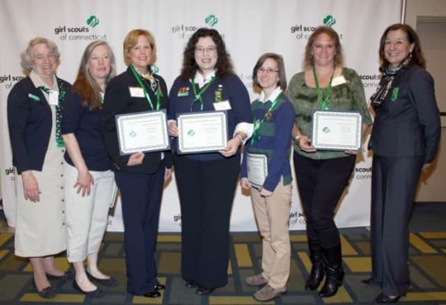 Several Fairfield County women recently received national awards from the Girl Scouts of Connecticut.