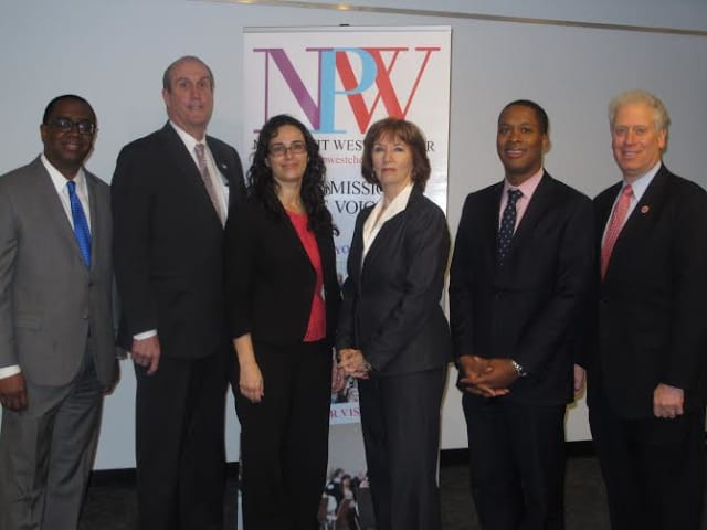 Westchester executives gathered to discuss the common goals of the nonprofit and government sectors at Nonprofit Westchester's forum in Greenburgh.