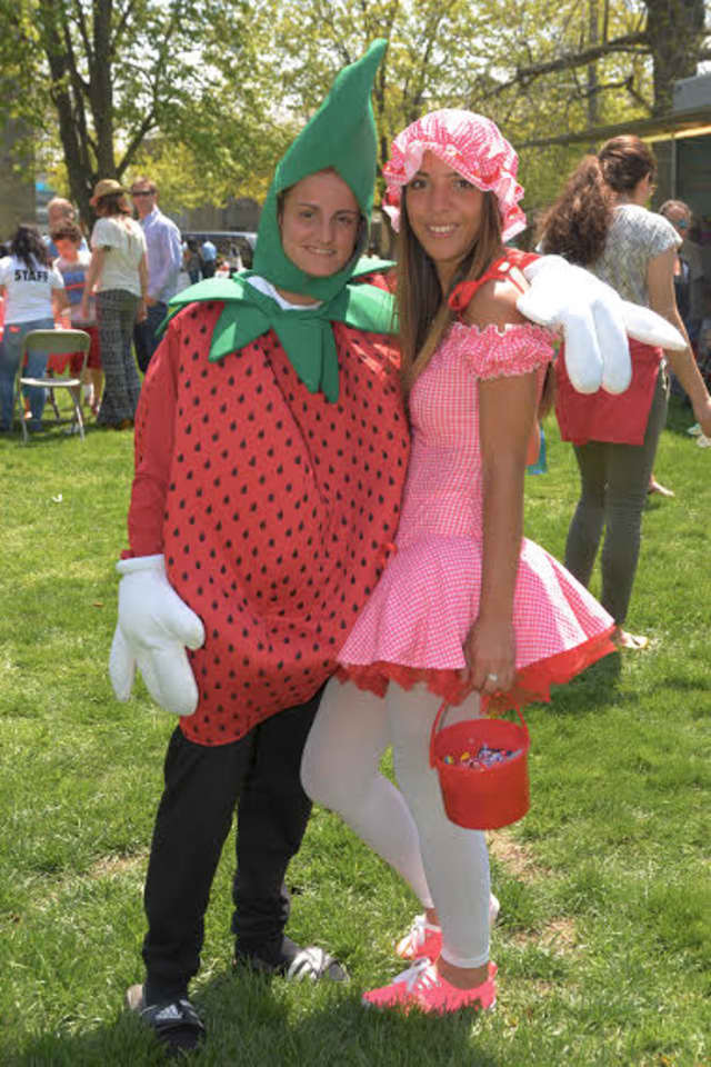 The College of New Rochelle's Strawberry Festival, scheduled for May 1, includes students getting in a strawberry mood.