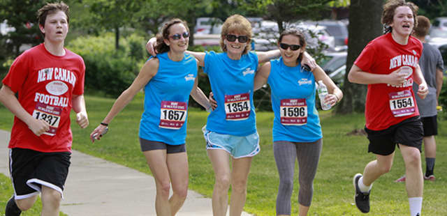 The Multiple Myeloma Team For Cures: Tri-State 5k Walk/Run will be held in New Canaan on Sunday, June 7.