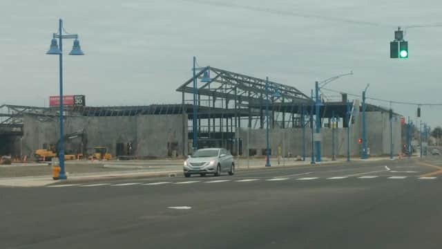 Construction at Bridgeport's Steelpointe Harbor has begun, and three of the waterfront development's core businesses are scheduled to open this fall.