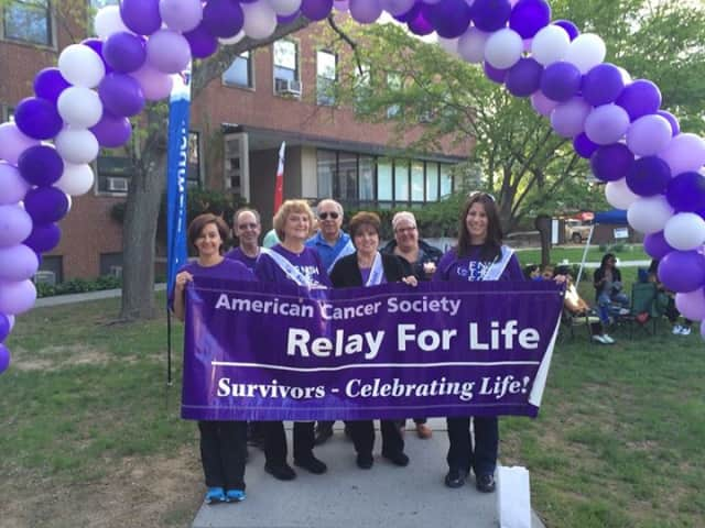 Cancer survivors kickoff the 2014 Relay for Life. This year's event will take place on May 16 and 17.