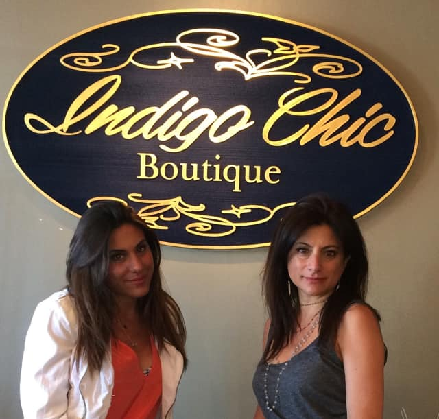Jessye, left and Lynda Piscitelli run Indigo Chic.