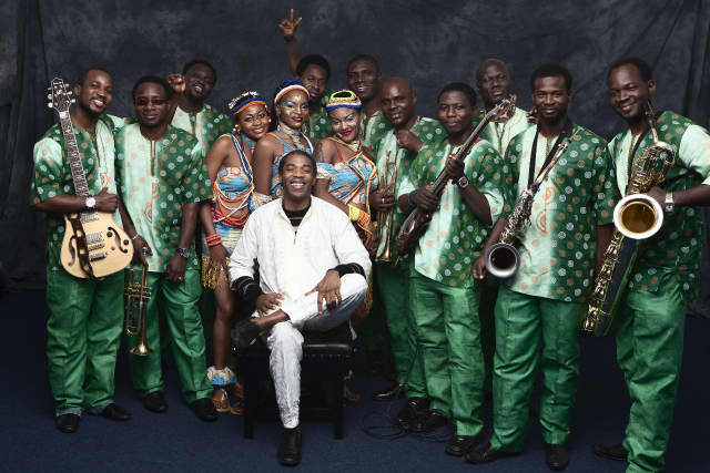Femi Kuti & The Positive Force will perform June 5 at the Ridgefield Playhouse.