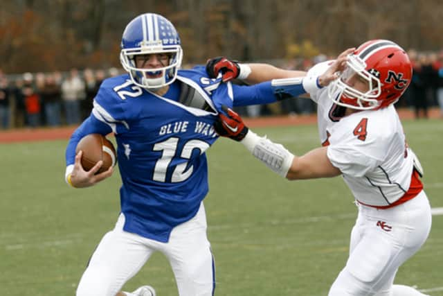 The annual Thanksgiving Day game between Darien and New Canaan will be held at Boyle Stadium in Stamford for the next two years.