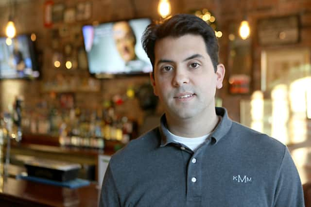 Ken Martin, co-owner of Colony Grill, which will open its fourth location this summer in Norwalk.