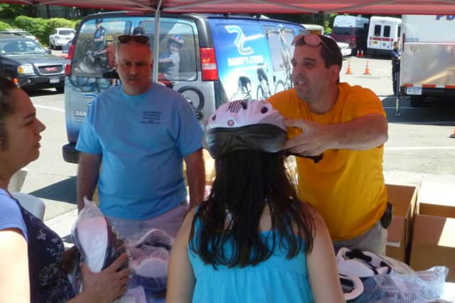 Free bicycle helmets will be among the services provided at Eastchester's Traffic Expo – Kids Safety Day.