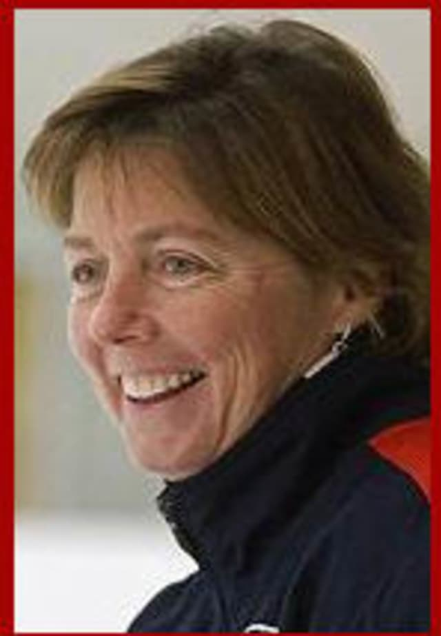 Katey Stone, head coach of Olympic Women's Ice Hockey (Team USA) will be at the panel discussion on May 17.