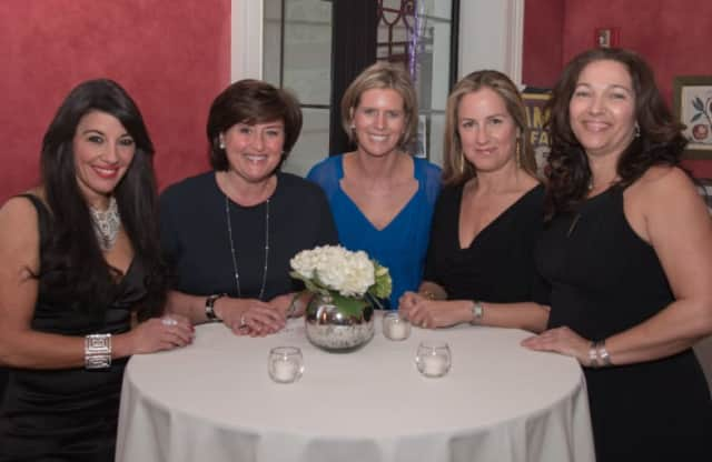 Ashley Dineen, of Darien, Marisela Esposito, of Weston, PJ Marcella, of New Canaan, and Ariane Triay, of Stamford were co-chairs of the The Tiny Miracles Foundation gala.