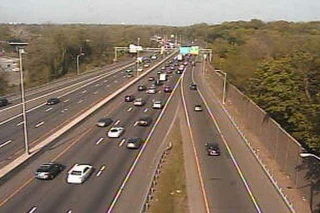 Roadwork on I-95 in Fairfield County could cause traffic problems on surface streets in town.