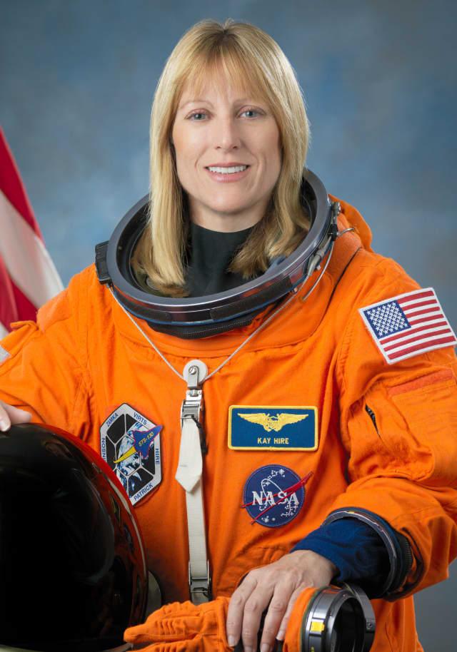 Astronaut Kathryn Hire