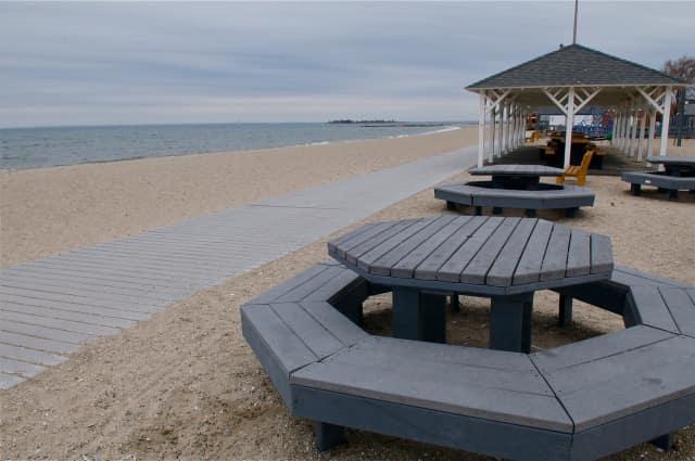 Compo Beach in Westport.