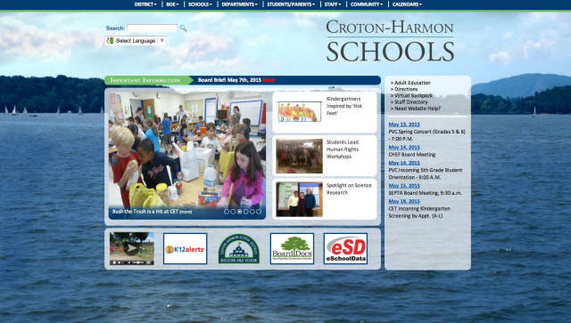 The Croton-Harmon School District has launched its redesigned website.
