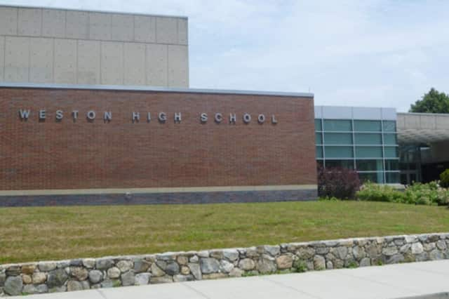 Weston High School was ranked the best high school in Fairfield Conty and fifth in the state.