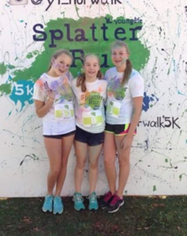 "A 5k ""Splatter Run"" will be held to benefit Young Life Norwalk on Saturday, May 23, at Calf Pasture Beach."