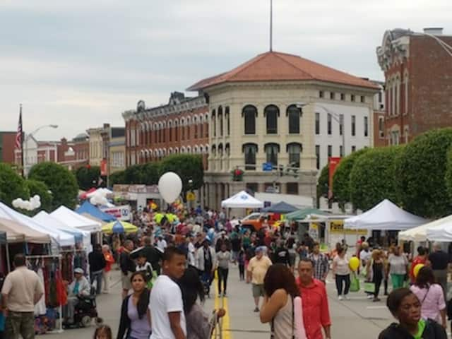 Thousands attend the  Ossining Village Fair each year.