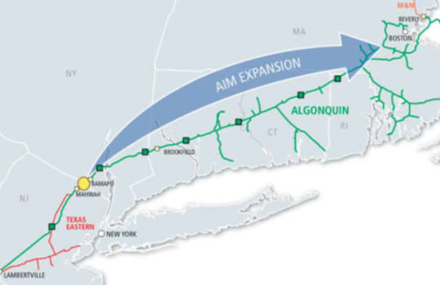 Despite heavy opposition from some people, state officials have approved a permit that would move the proposed Algonquin pipeline expansion project forward, according to lohud.com.