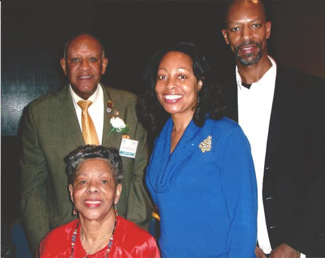 """Members of the Lee family of White Plains, who will receive a """"Legacy Award"""" during Thursday night's Juneteenth Gala in Tarrytown."""
