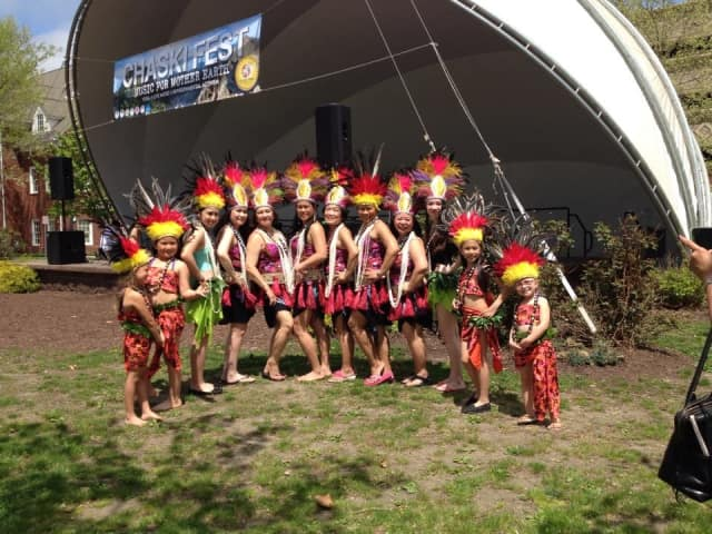 The Connecticut Tiare Polynesian Dance Troupe.