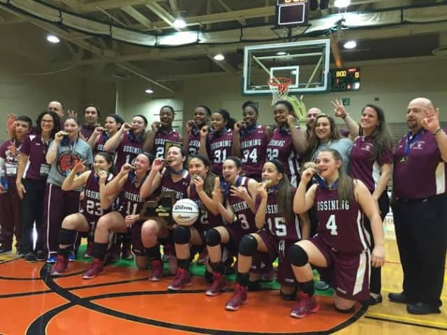 Three athletes from the girls' basketball team have committed to play college sports.