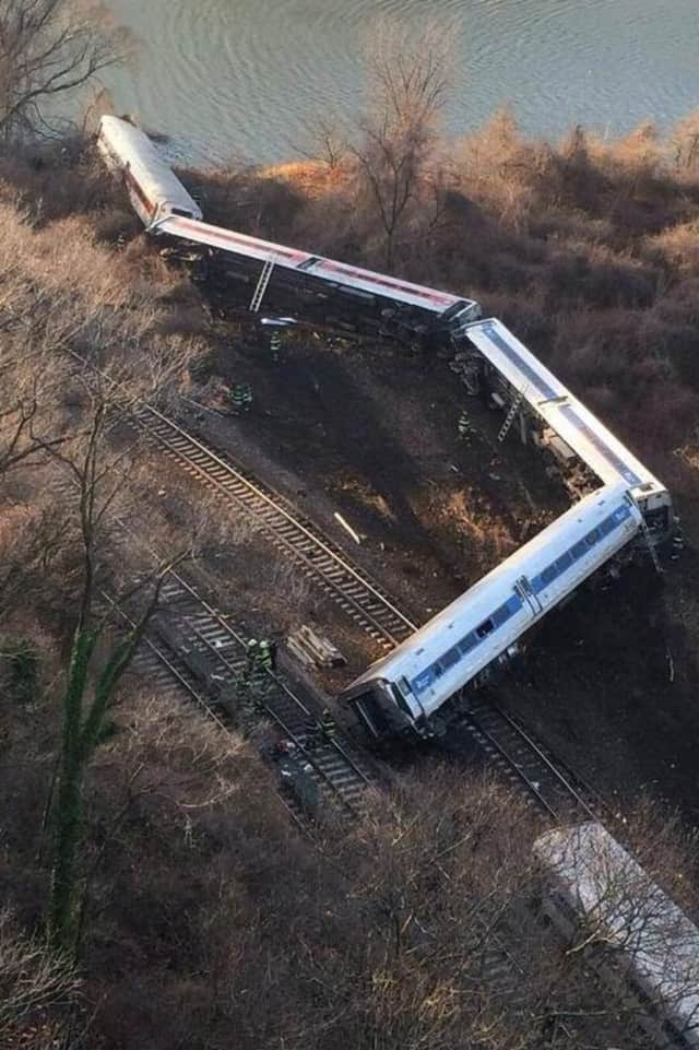 The train derailment occurred in December 2013.