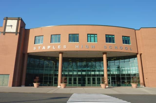 "Staples High School, in Westport, was named to the ""100 Best w!se High Schools Teaching Personal Finance"" list."
