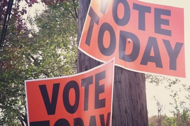 Westchester County residents can cast their vote on Tuesday.