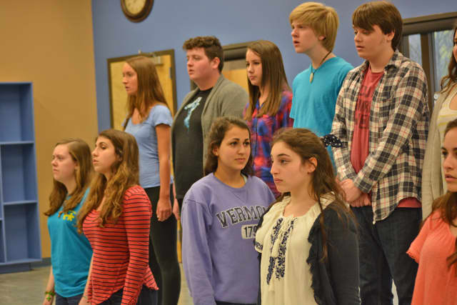 """Members of the Armonk Lighthouse Youth Theater will perform """"Spring Awakening"""" at the Yorktown Stage on June 5 and 6."""