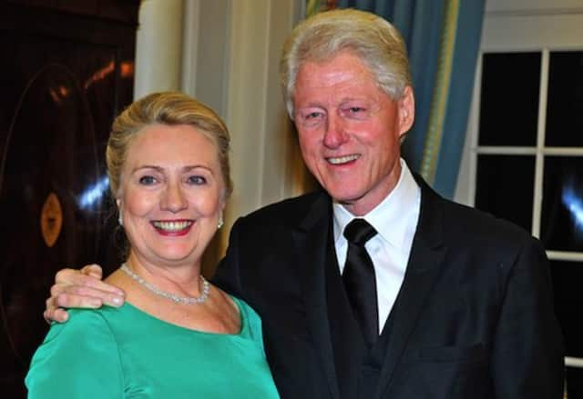 Hillary Clinton, front-runner for the Democratic presidential nomination, and former President Bill Clinton earned more than $25 million over the past year and half by giving speeches, The Wall Street Journal reported Friday.