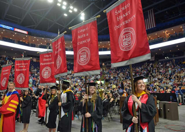 Sacred Heart University will celebrate its graduation commencement exercises May 14-15.