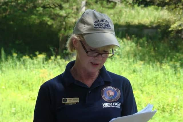 Bonnie Tremante will host the Nature of Love Walk at Weir Farm National Historic Site May 24.