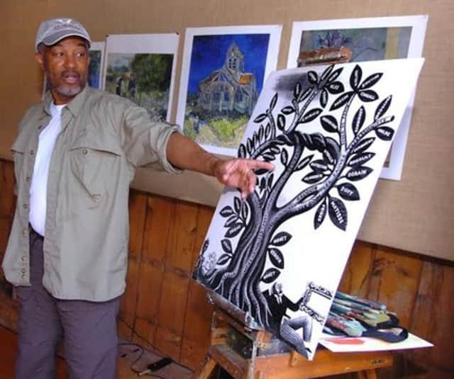 Impressionist artist and educator Dmitri Wright of Greenwich.