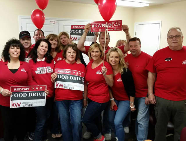 Keller Williams Realty Partners Associates and The Lou Cardillo Home Selling Team celebrated RED Day May 14.