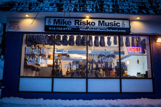 """Mike Risko Music School in Ossining has been been named a """"Top 100 Dealer"""" by the National Association of Music Merchants."""