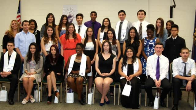 The Southern Westchester BOCES Center for Career Services inducted 29 members into the NTHS.