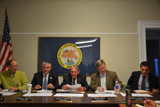 The Lewisboro Town Board