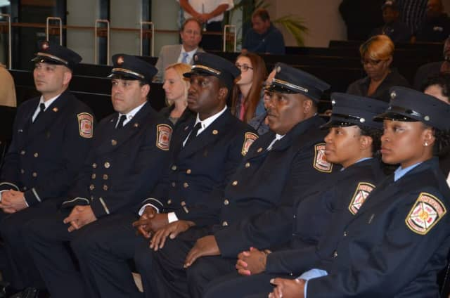Bridgeport received $2.7 million in federal funds to help pay for new firefighters.