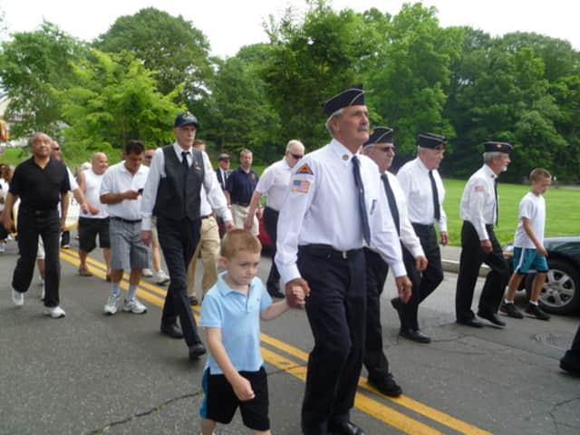 The Byram Veterans Association will hold its Memorial Day parade Sunday.