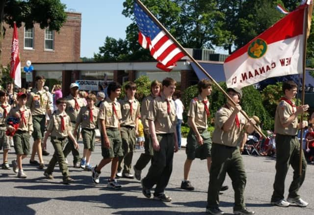 New Canaan will hold its Memorial Day parade on Monday.