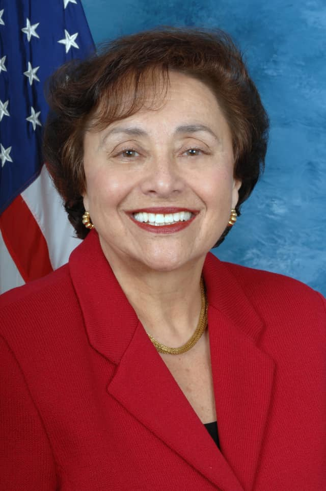 U.S Rep. Nita Lowey visited Port Chester Middle School on Friday.