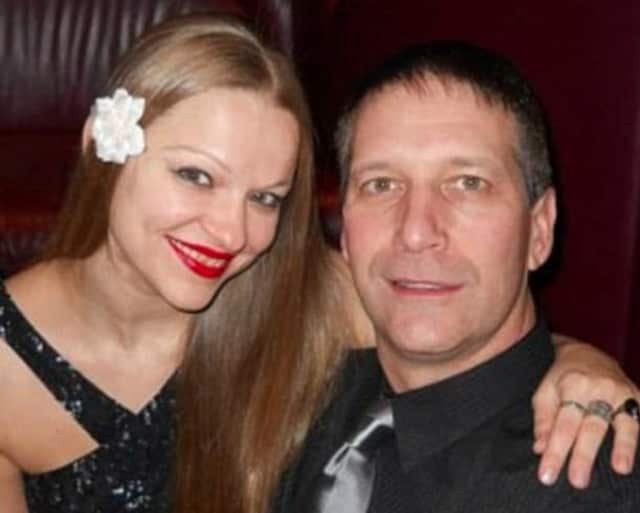 Angelika Graswald, left, was charged with the second-degree murder of Vincent Viafore, right, April 30, 11 days after reporting he had capsized in the Hudson River.