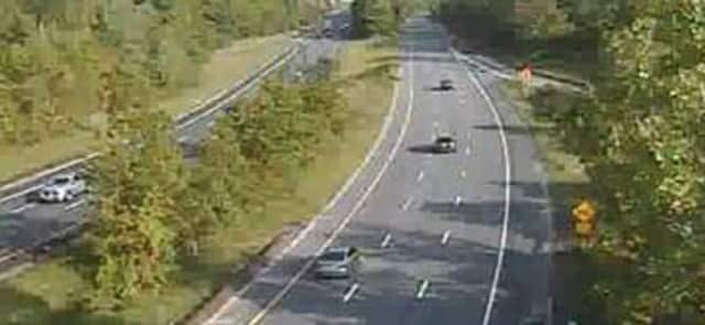 Traffic moving well Monday afternoon on the Taconic State Parkway at 9A in Mount Pleasant.