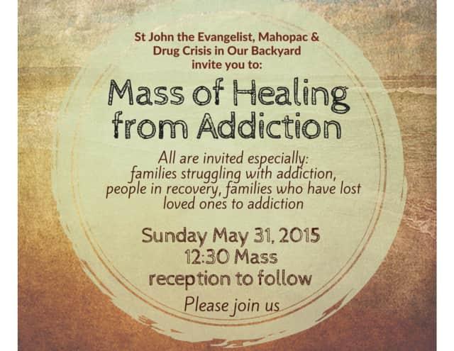 St  John The Evangelist To Have Addiction Healing Mass | Putnam