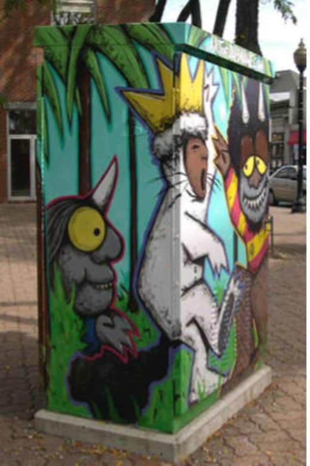 The Norwalk Arts Commission is sponsoring walking tours of SoNo Public Art.