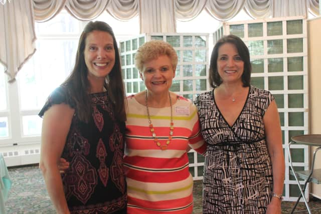 Nancy Heller, center, of Yorktown, a 30-year breast cancer survivor, is scheduled to speak at Support Connection's 11th annual Celebrate Life Day in Ossining. She is depicted with two guests at last year's event.