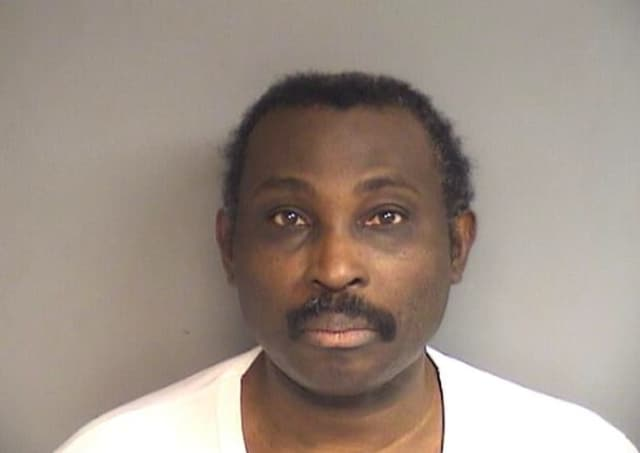 Rony Pierre-Louis, 51, was charged with public indecency after he allegedly masturbated at Cummins Beach Tuesday near a woman who photographed him as he was doing so.