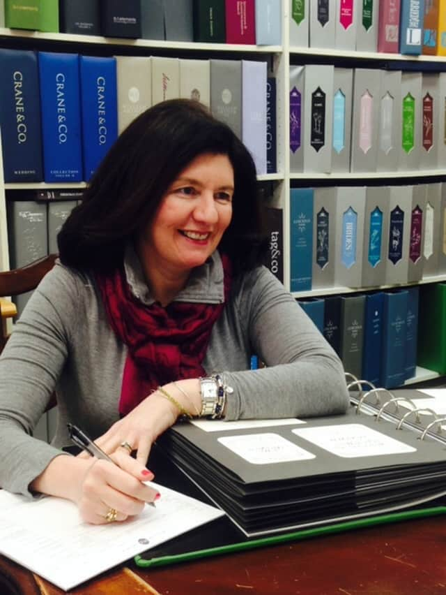 Laura Marks is the owner of Fine Lines of Katonah.
