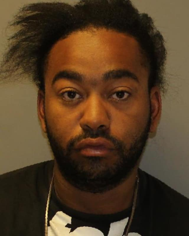 George B. Smith, 25, was arrested for criminal possession of stolen property, according to police.
