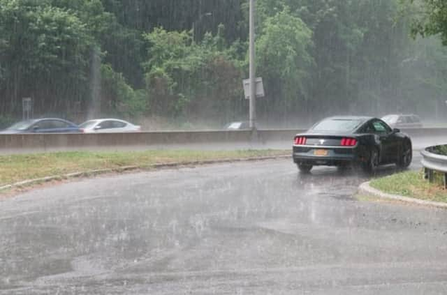 The National Weather Service said Bergen County could see showers this afternoon and early evening.